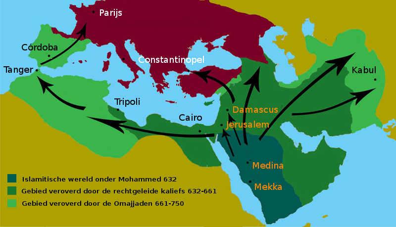 Verspreiding van de Islam