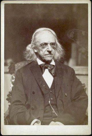 Theodor Mommsen op oudere leeftijd - Tucker Collection - New York Public Library