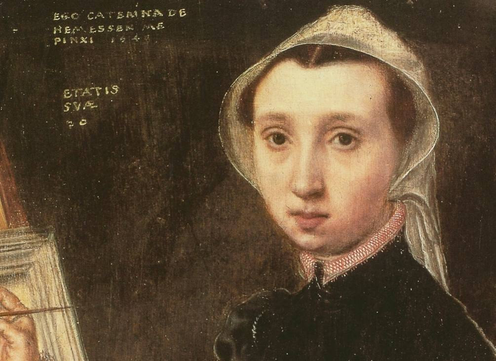 Catharina van Hemessen - Zelfportret, 1548