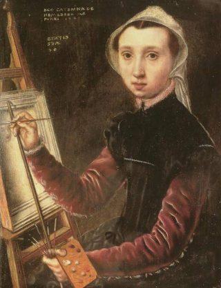 Catharina van Hemessen (1548) – Zelfportret – Kunstmuseum Basel