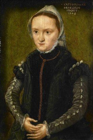 Catharina van Hemessen (1548), Portret van een vrouw, Rijksmuseum Amsterdam