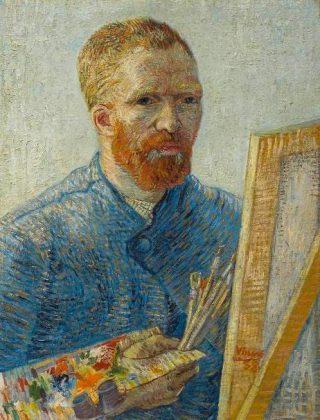 Vincent van Gogh (1887/1888), Zelfportret als schilder, Van Gogh Museum, Amsterdam