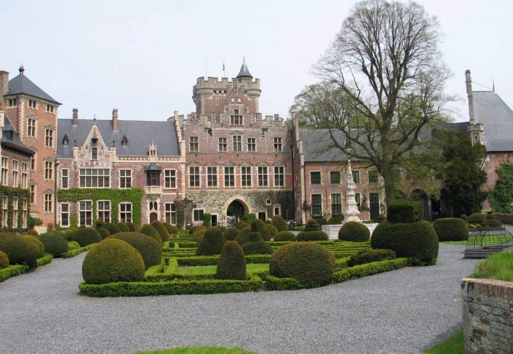 Binnenhof van Kasteel Gaasbeek