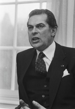 Barend Biesheuvel in 1979
