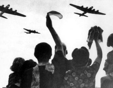 Geallieerde vliegtuigen boven Nederland