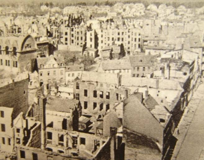 Kolberg na de belegering van 1945