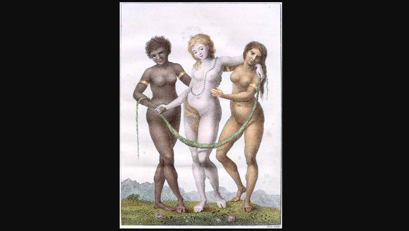 Europa, ondersteund door Afrika en Amerika - William Blake, 1796