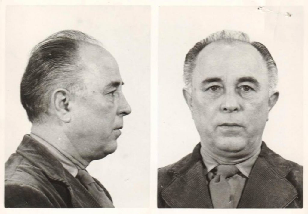 Ongedateerde foto van Kotalla in de koepelgevangenis in Breda. Bron: Gevangenismuseum Veenhuizen