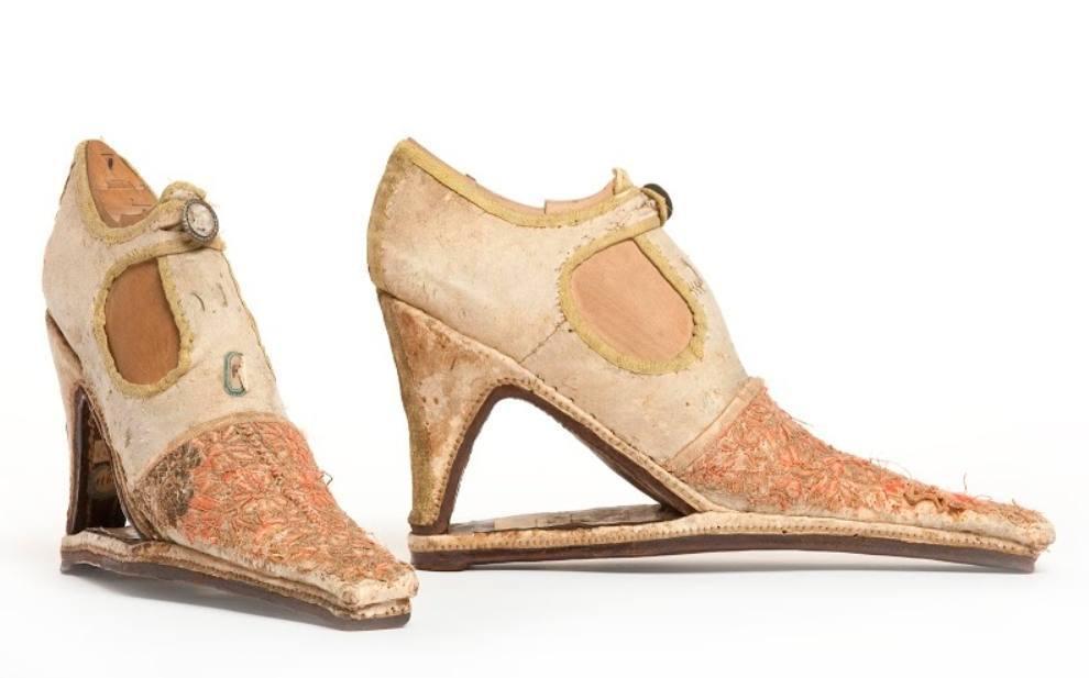 Schoenen van Marie-Antoinette