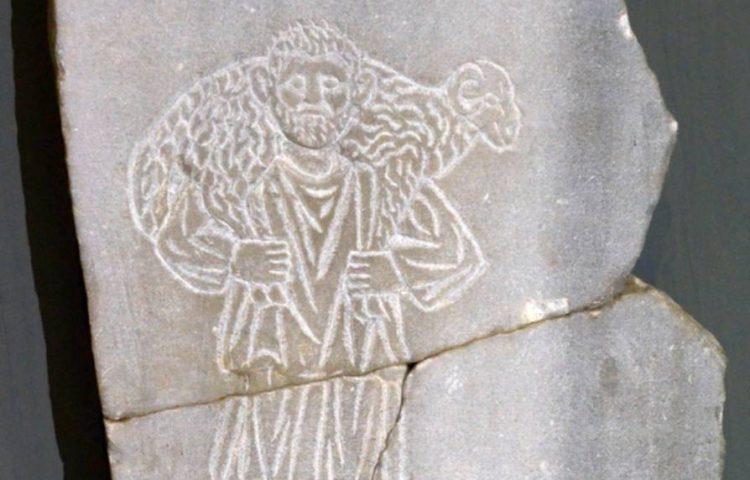 Goede herder (Musée archéologique de Sousse)