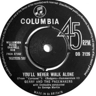 Gerry & The Pacemakers – You'll Never Walk Alone