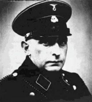 Blobel in SS uniform