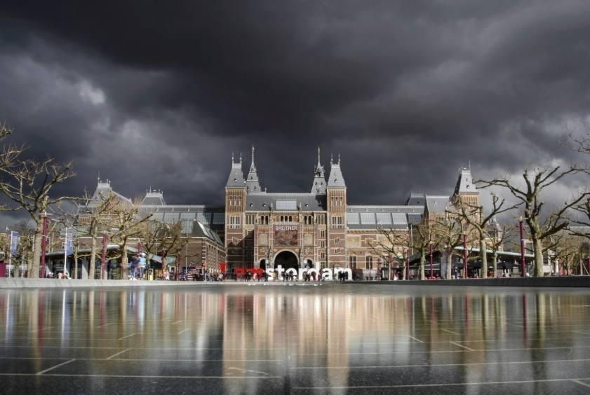 Archieffoto van het Rijksmuseum in Amsterdam