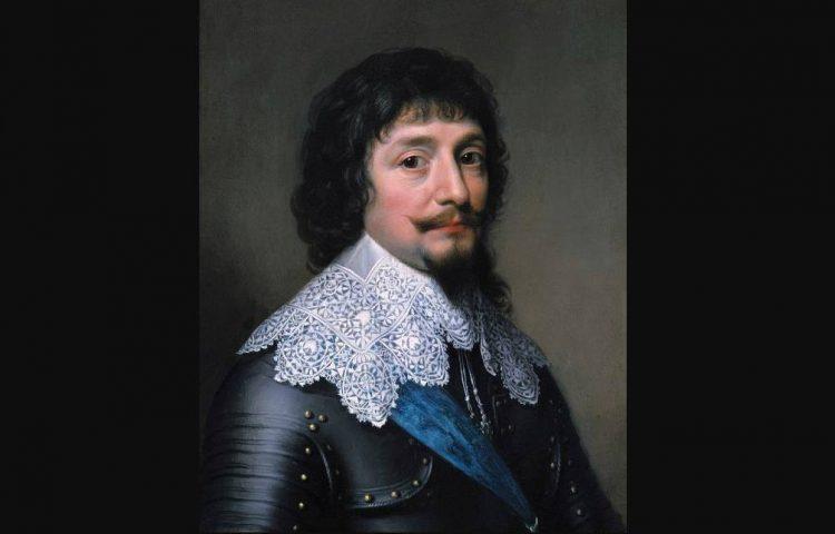 Portret van Frederik V van de Palts, door Michiel Jansz. van Miereveld