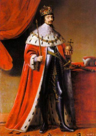 Koning Frederik I van Bohemen (1634), door Gerard van Honthorst, Kurpfälzisches Museum Heidelberg