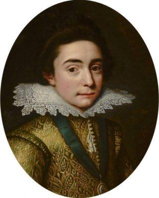 Portret van de jonge Frederik - Door Michiel van Mierevelt, 1613