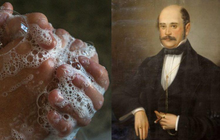 Ignaz Semmelweis: 'Handen wassen in het ziekenhuis'