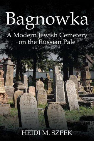 Het boek van Heidi Szpek over de begraafplaats in Bialystok.