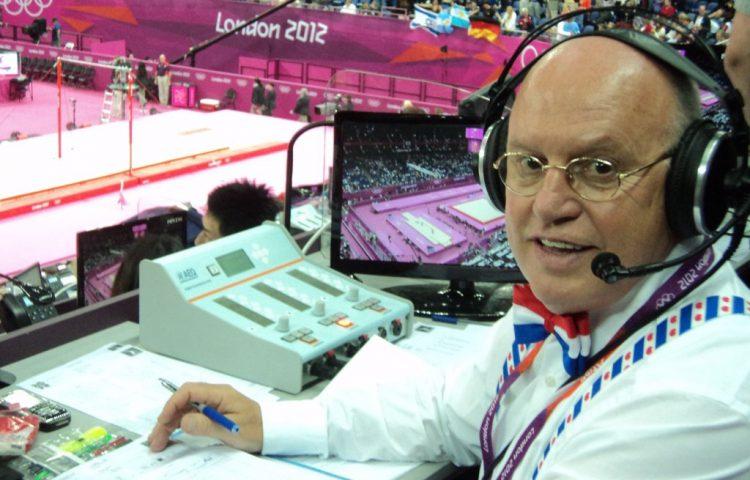 Hans van Zetten tijdens de Olympische Spelen van 2012 in Londen