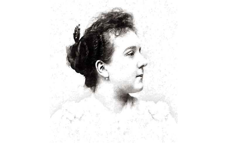 Suzanne Noël op jonge leeftijd