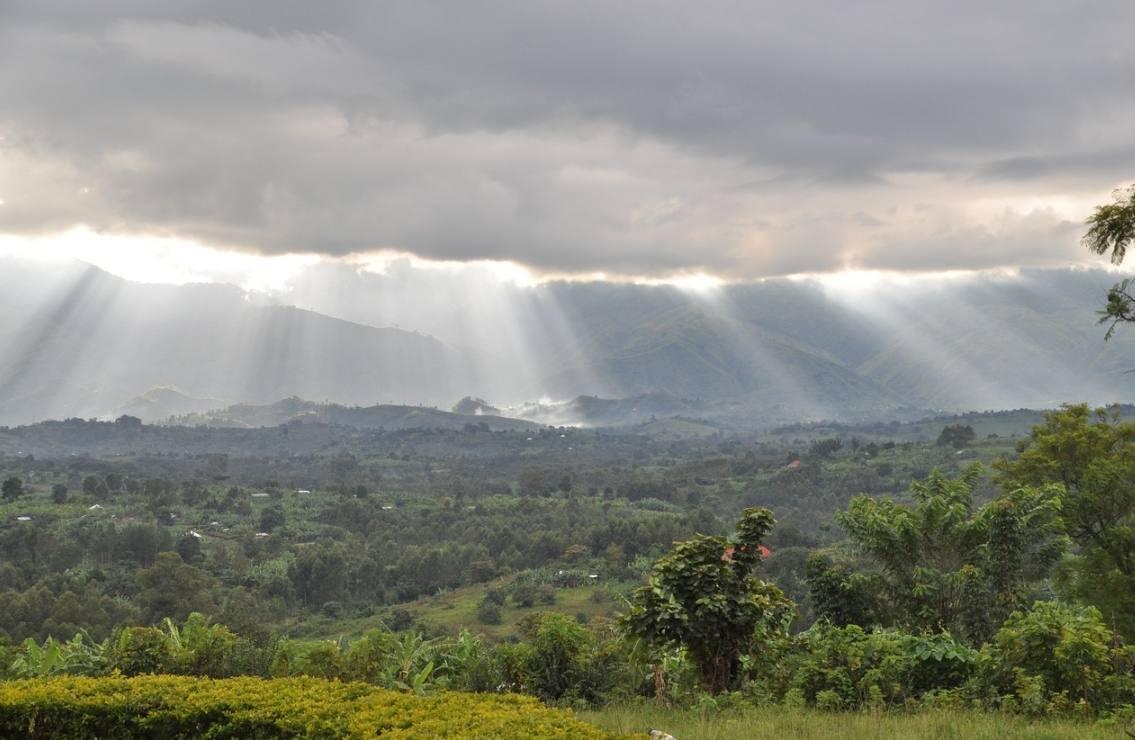 Rwenzori-gebergte in Congo