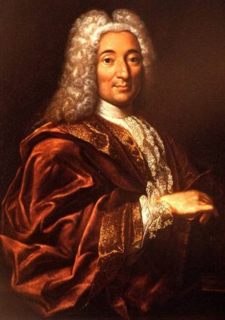 Pierre Fauchard, vaak de grondlegger van de huidige tandheelkunde genoemd