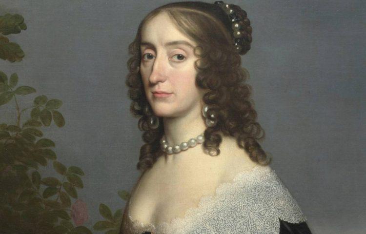 Elizabeth Stuart, de Winterkoningin - Gerard van Honthorst, 1642