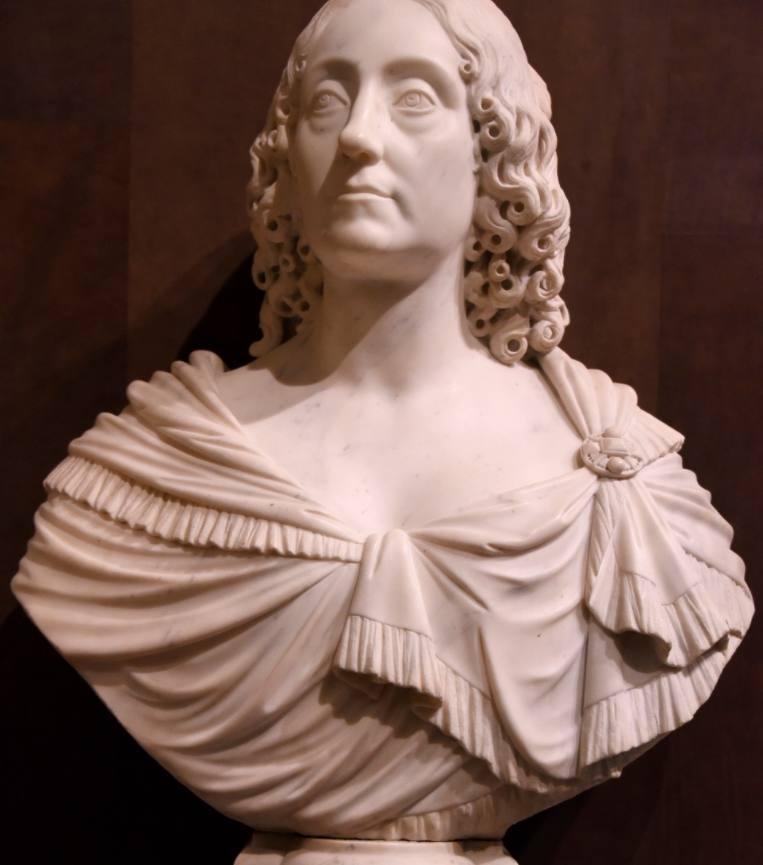 Buste van Elizabeth Stuart - François Dieussart