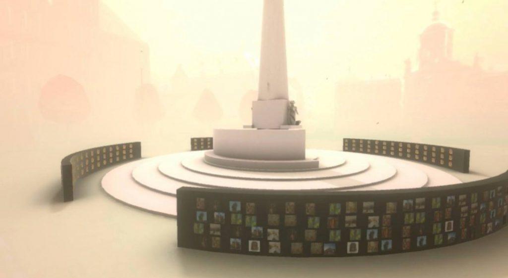 Visual online Gouden Pronkstuk op de Dam in Amsterdam
