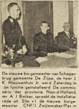Nieuwenhuis wordt geïnstalleerd – Schager Courant