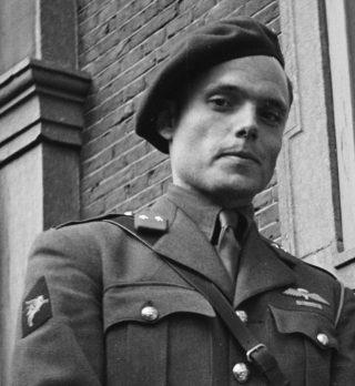 Peter Tazelaar in 1945