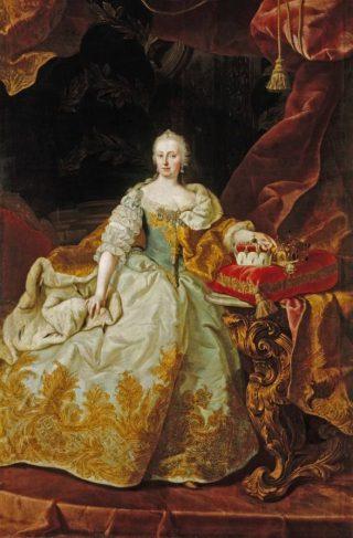 Keizerin Maria Theresia door Martin van Meytens