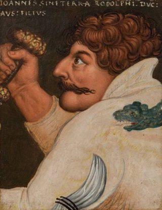 16e-eeuws portret van Jan Parricida door Antoni Boys