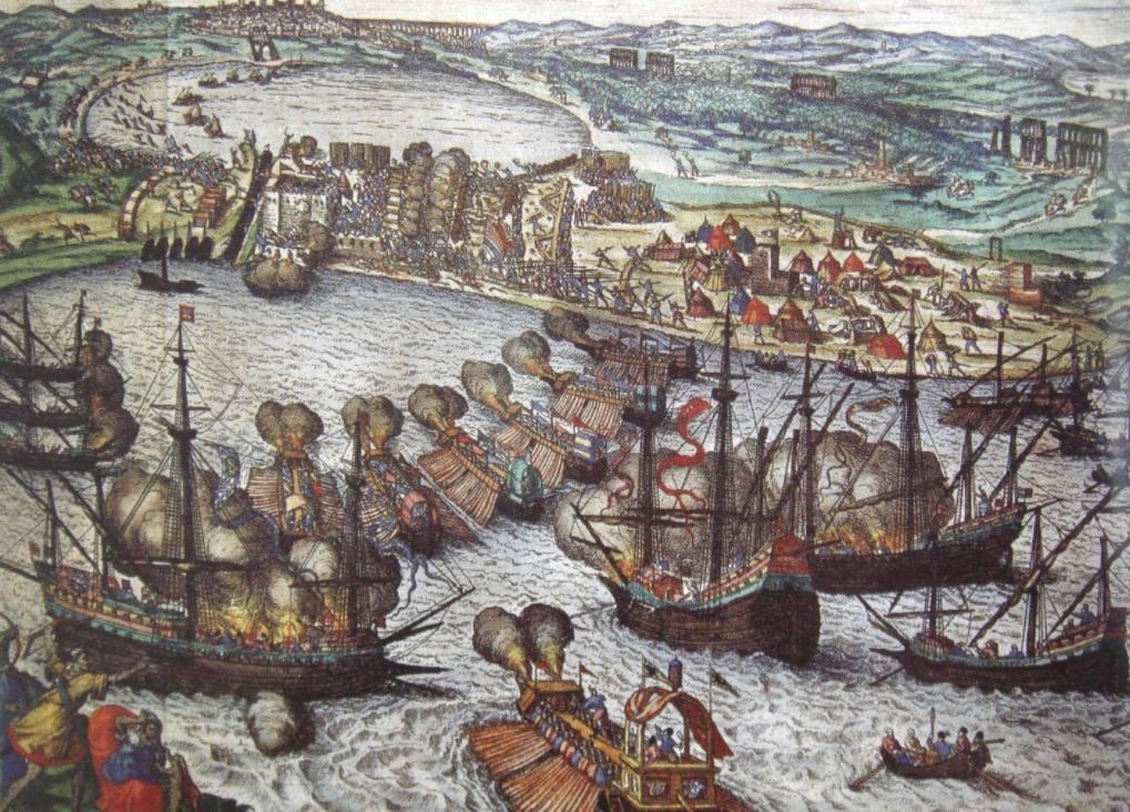 Slag om Tunis - Frans Hogenberg