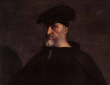 Portret van Andrea Doria, door Sebastiano del Piombo