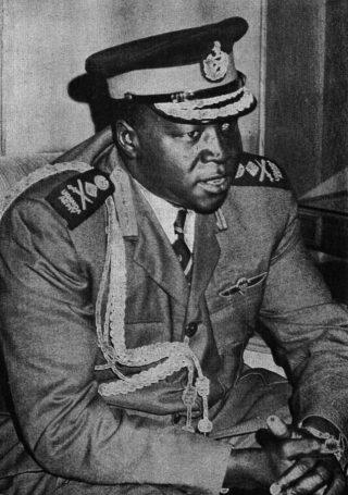 Oegandese dictator Idi Amin