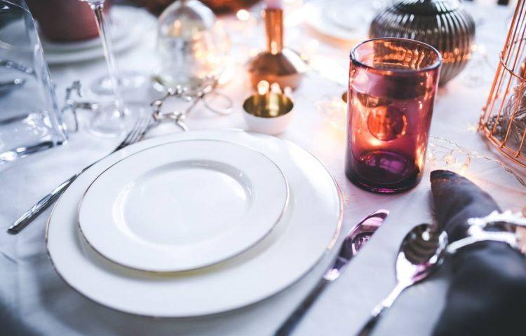 Diner - Gedekte tafel