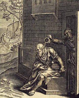 Socrates en Xantippe - Otto van Veen, 1607