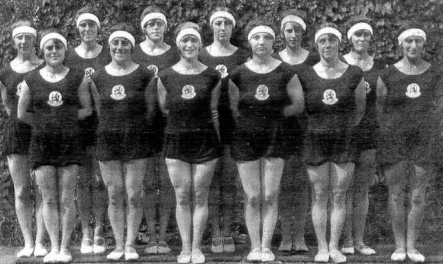 Het Nederlandse gouden turnteam van 1928