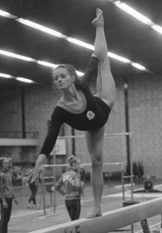 Ans van Gerwen in 1972