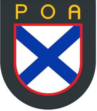 """Badge van het """"Russkaya Osvoboditel'naya Armiya"""" (ROA)"""