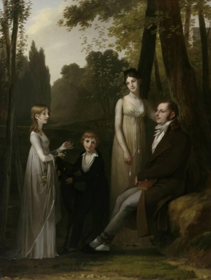 Rutger Jan Schimmelpenninck en zijn gezin - Pierre Prud'hon, 1801-1802