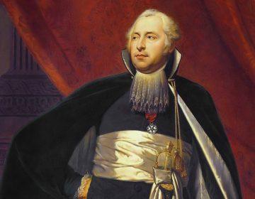 Rutger Jan Schimmelpenninck, raadpensionaris van de Bataafse Republiek - Schilderij van Charles Howard Hodges