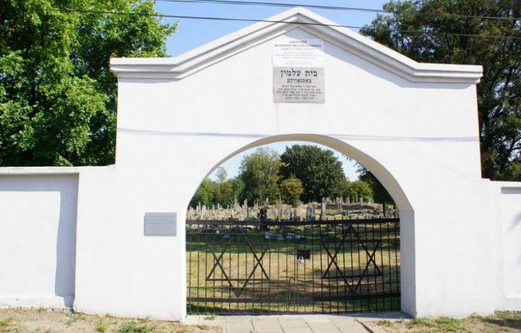 De joodse begraafplaats in Bialystok