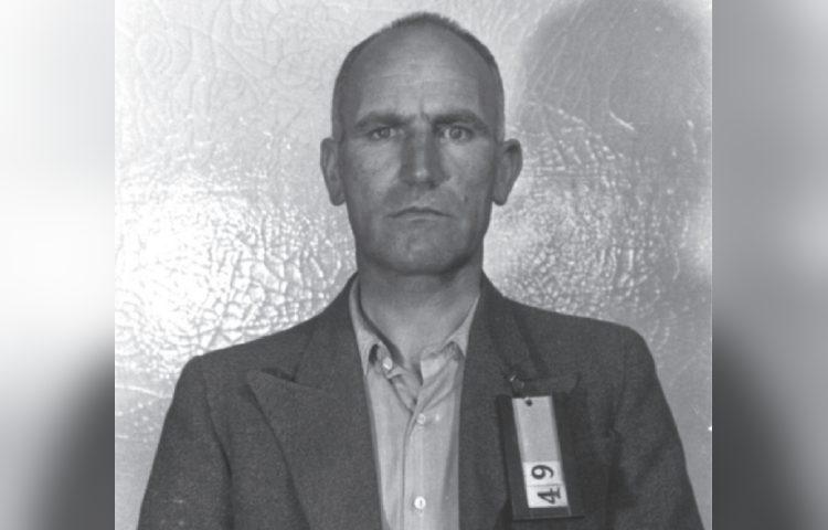 Peter Schaap aan het eind van de Tweede Wereldoorlog