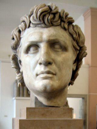 Buste van Attalus I
