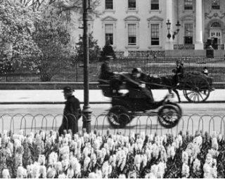 Elektrische taxi in Washington D.C. (1905)