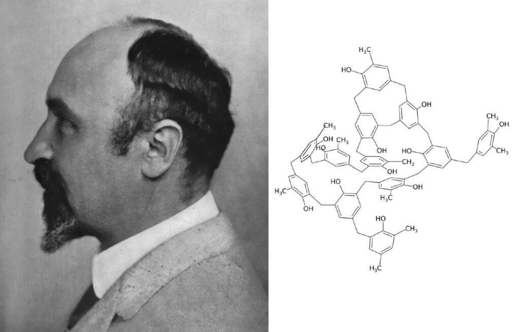 Leo Baekeland in 1916, uitvinder bakeliet