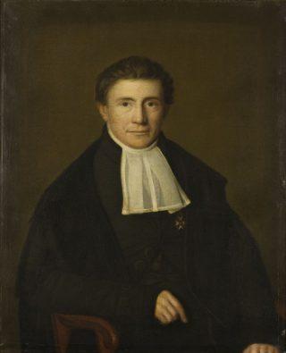 Portret van Sibrandus Stratingh (ca. 1850)