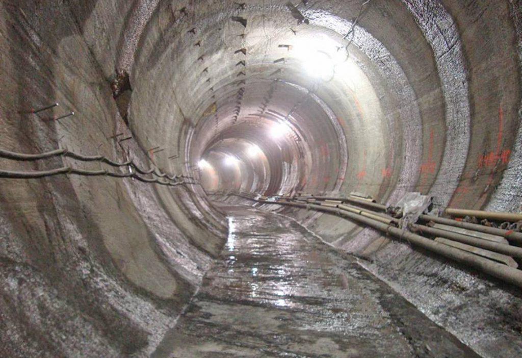 Metrotunnel onder New York